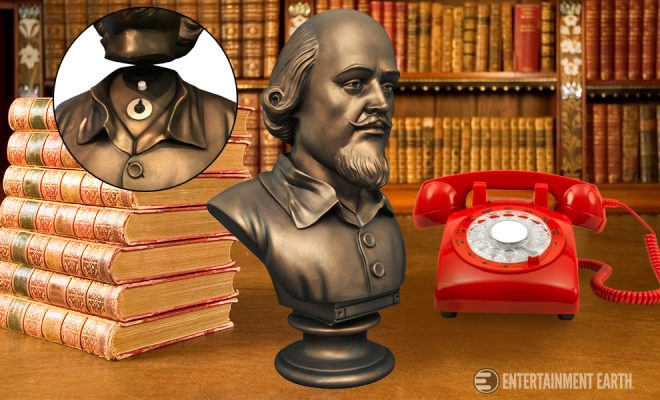 Get The Wayne Mansion Aesthetic With Shakespeare Head Bust