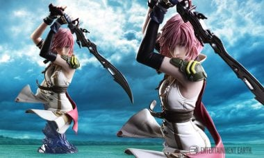 Final Fantasy XIII Bust Lights Up the Sky