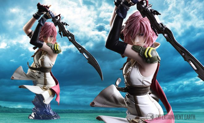 FINAL FANTASY XIII 13 LIGHTNING STATIC ARTS BUST FIGURE NEW AND SEALED