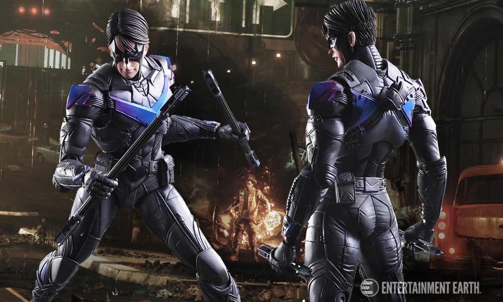 You Won T Wanna Mess With The New Nightwing Play Arts Kai
