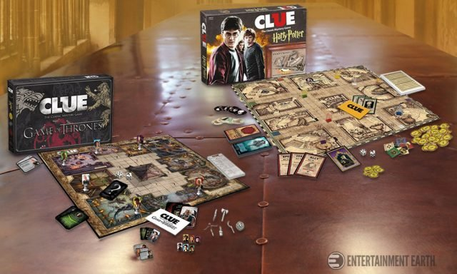 Game of Thrones Harry Potter Clue