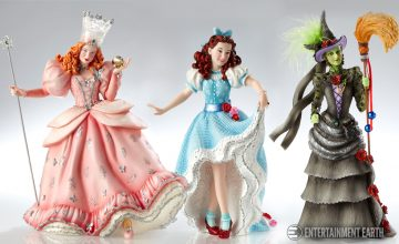 Wizard of Oz Couture de Force Statues