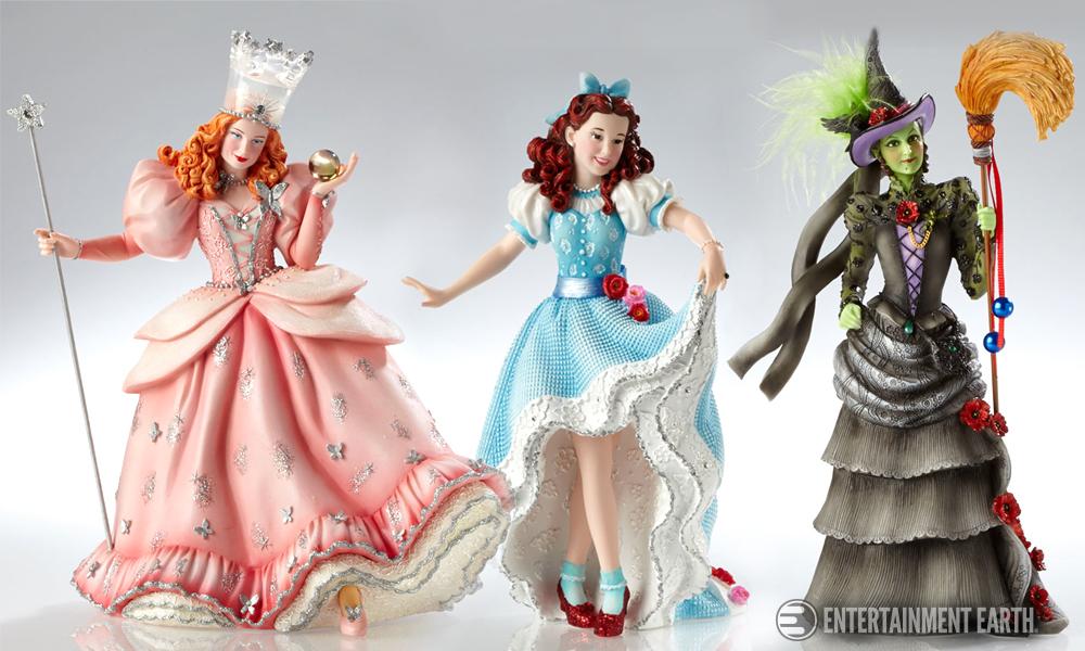 Wizard Of Oz Couture De Force Statues Are A Tour De Force