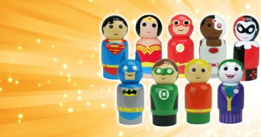 Hot off the Truck! DC Comics Characters Re-imagined as Pin Mate Figures