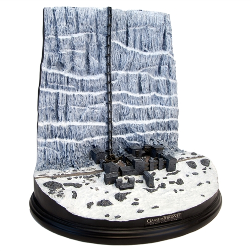 Game of Thrones Castle Black and the Wall Desktop Sculpture