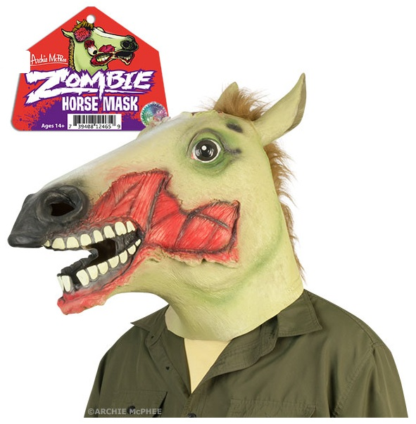 Zombie Horse Glow-in-the-Dark Mask