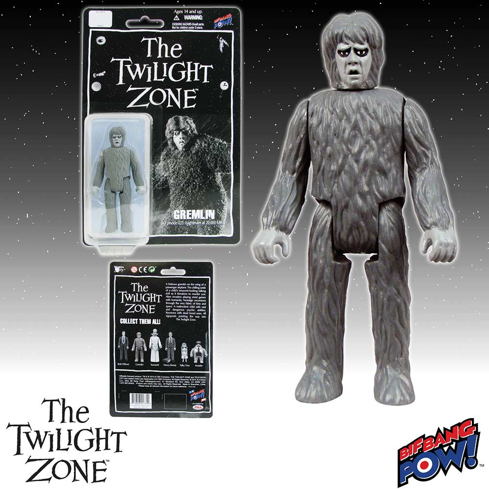 The Twilight Zone Gremlin 3 3/4-Inch Action Figure Series 1