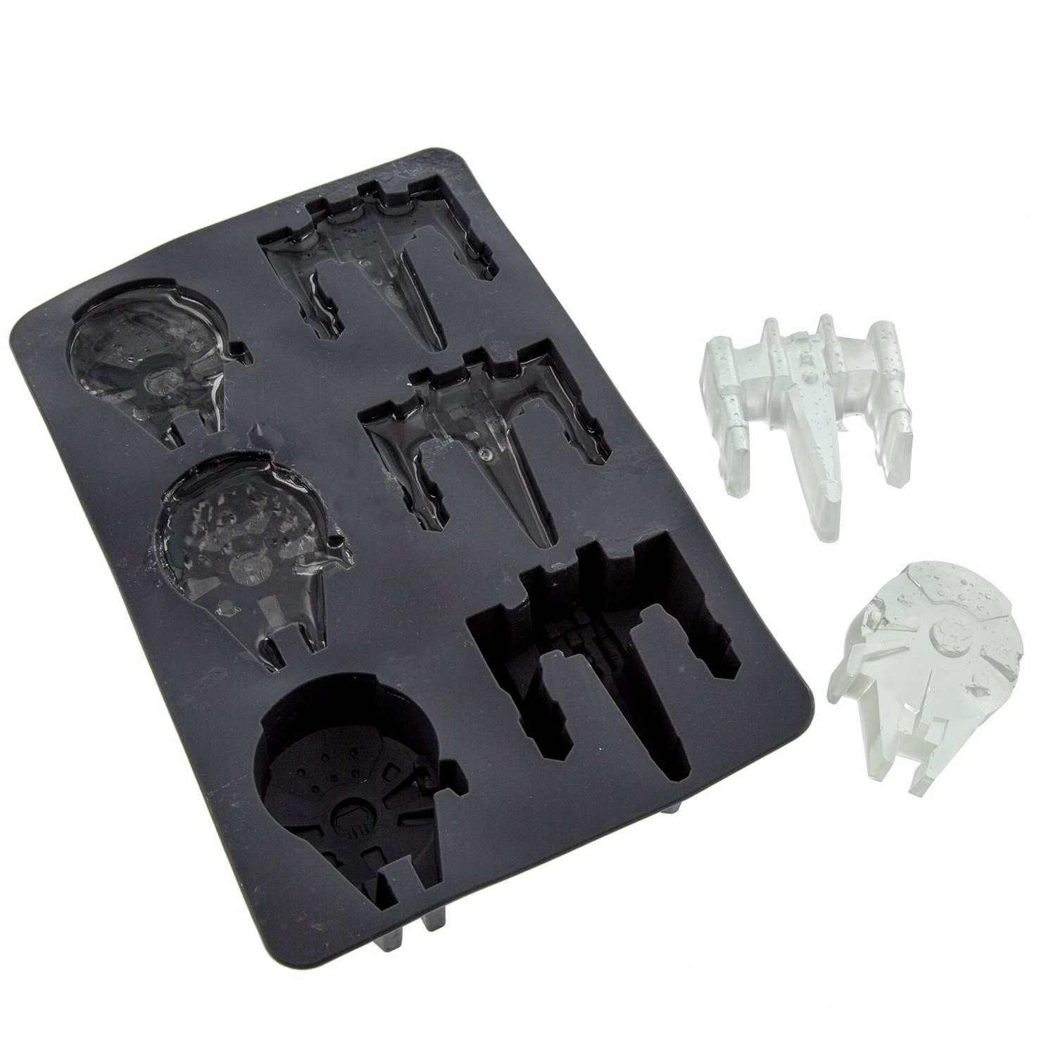 Star Wars X-Wing and Millennium Falcon Ice Cube Tray