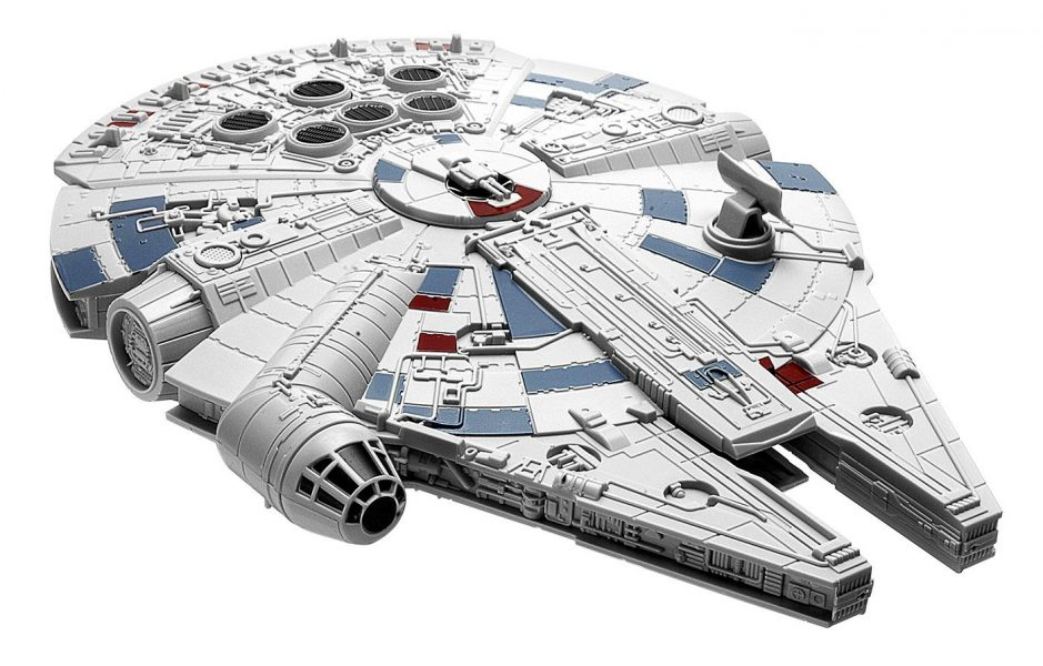 Star Wars: The Force Awakens Millennium Falcon Snaptite Electronic Model Kit