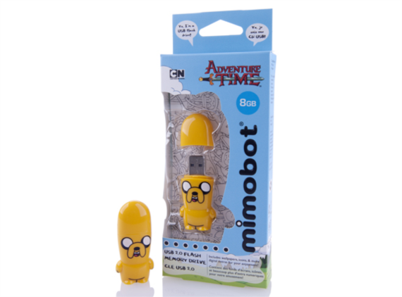 Adventure Time Jake Mimobot USB Flash Drive