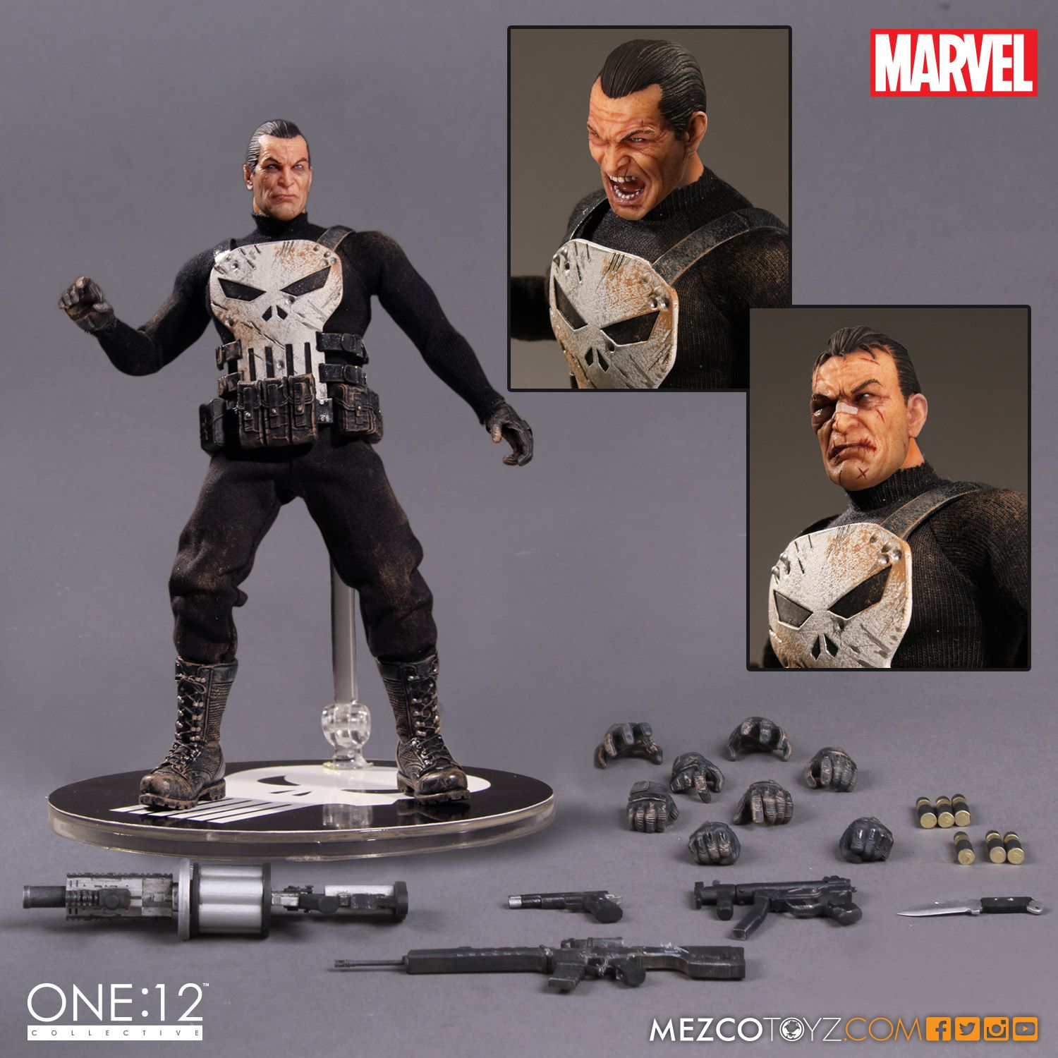 Punisher One:12 Collective Action Figure