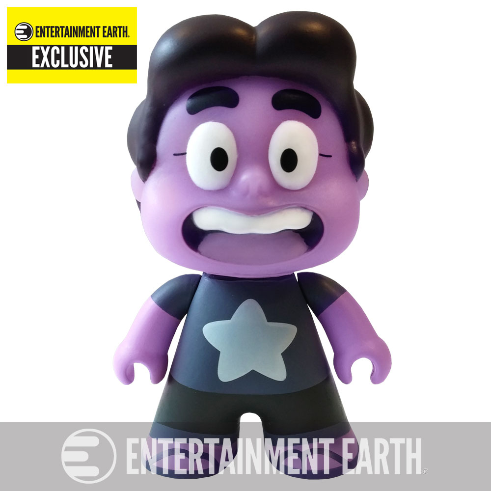 Steven Universe Amethyst 3-Inch Titan Vinyl Mini-Figure - Entertainment Earth Exclusive