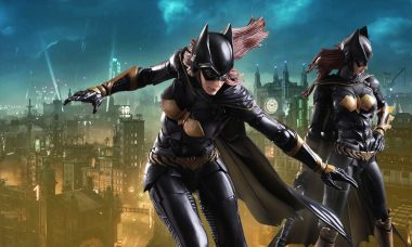 Arkham Knight Batgirl Action Figure Demands Justice