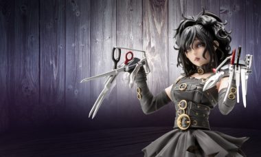Edward Scissorhands Gets the Bishoujo Treatment As This New Statue