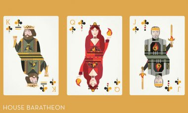 Illustrated Game of Thrones Playing Cards Take Fan Art to a Whole New Level