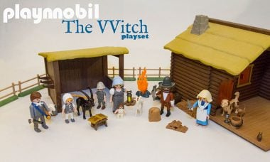 Playmobile Playset Hacked to Bring The Witch to Playrooms Everywhere