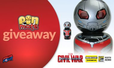 Limited Edition Ant-Man and Giant Man Pin Mate Set – Convention Exclusive Giveaway