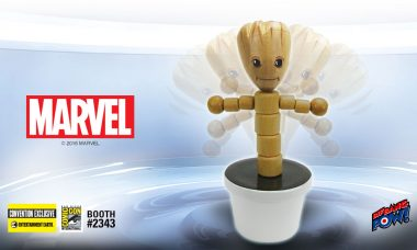"""""""I Am Groot!"""" – New Convention Exclusive Wooden Push Puppet"""