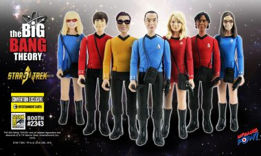 THE BIG BANG THEORY™ Crew Boldly Goes to Comic-Con as Action Figures!