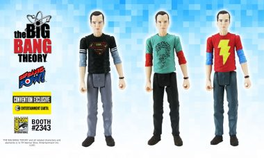 Sneak Peek: Three New Sheldon Action Figures – Convention Exclusives!