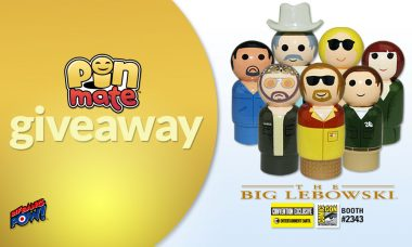 Convention Exclusive Giveaway – The Dude Abides in New The Big Lebowski Pin Mate Set!