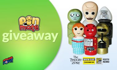 Six Classic The Twilight Zone Characters in Pin Mate Convention Exclusive Giveaway