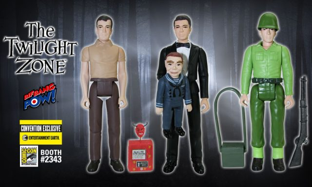 The Twilight Zone Color Action Figures Convention Exclusive