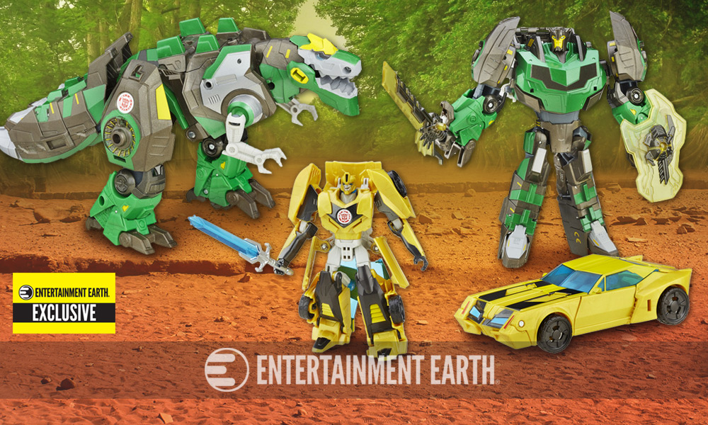 Transformers Asia Kids Day Platinum Edition Robots in Disguise Premium Grimlock and Bumblebee 2-Pack - Exclusive