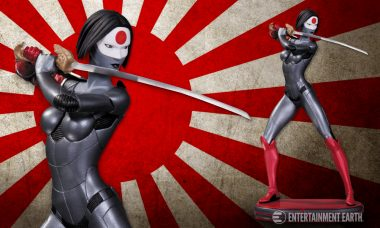 Katana Wields Her Namesake with New Statue