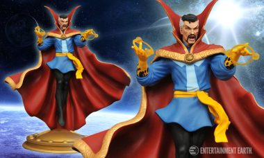 Brilliantly Carved Doctor Strange Comes to Marvel Gallery Collection