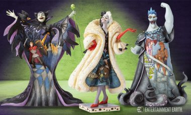 Celebrate Disney's Greatest Villains with Disney Traditions Villain Statues!