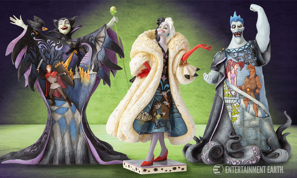 Enesco Disney Villains