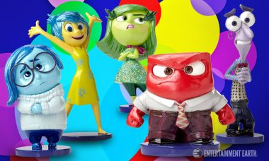 Rejoice Over Colorful Inside Out Statues