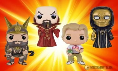 Write Your Own Space Opera with Funko's Flash Gordon Pop! Vinyls!