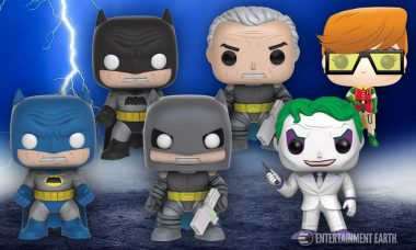 These Pop! Vinyl The Dark Knight Returns Previews Exclusive Figures are Full of Variations