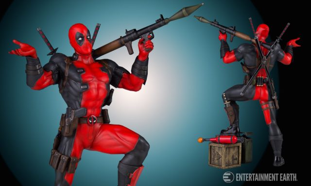 Deadpool Collector's Gallery Statue