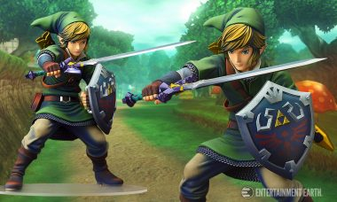Check Out This Legendary Skyward Sword Link Statue!