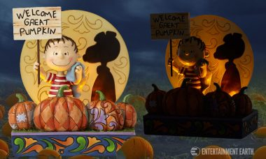 Celebrate 50th Anniversary of It's The Great Pumpkin, Charlie Brown with Whimsical Statue