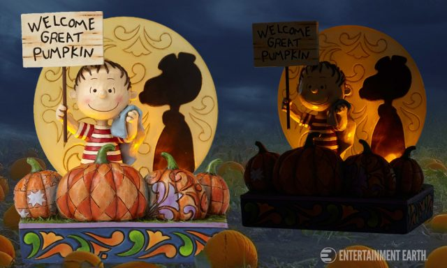 Peanuts Jim Shore The Great Pumpkin 50th Anniversary Statue