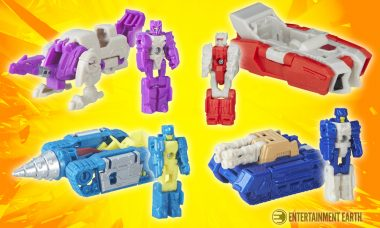 Get Ready to Transform and Roll out with These New Transformers Titan Masters