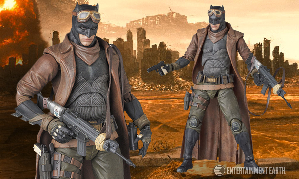 Batman MAF EX Action Figure is a Knightmare in Rugged Armor