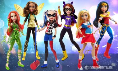 Superhero Dolls From DC/Mattel Team Up Here to Save the Day!