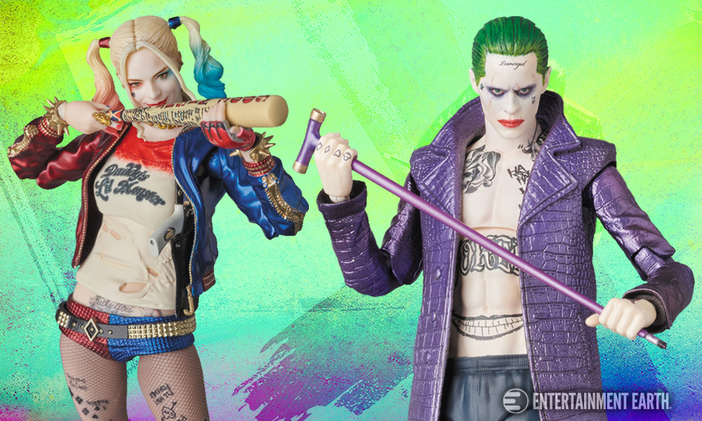 Suicide Squad Joker And Harley Action Figures Are