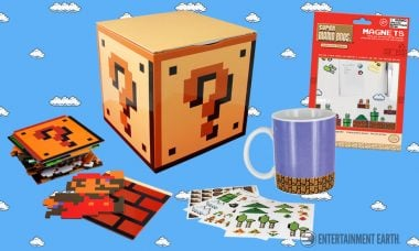 Power Up Your Home with These Super Mario Bros. Homewares!