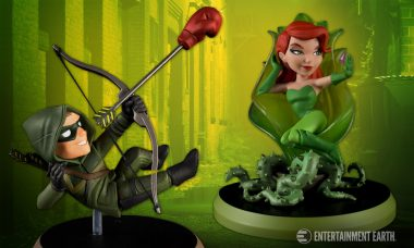 Arrow and Poison Ivy Get the Green Light as Q-Pop Vinyl Figures