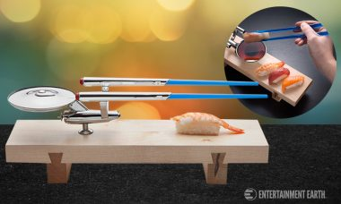 Take Sushi to the Stars with the U.S.S. Enterprise Sushi Set!