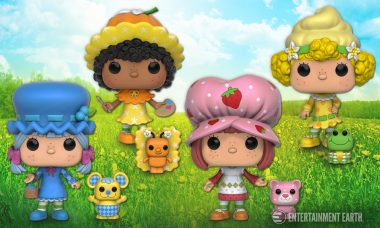 Enjoy An Extra Treat With Strawberry Shortcake Pop! Vinyls!