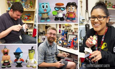 Unboxing Titan Cartoon Network Mini-Figures Brings Us Back to Childhood