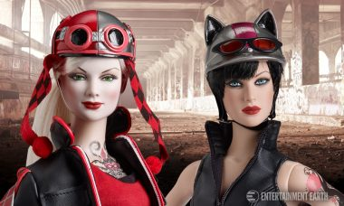 Catwoman and Harley Quinn Get the Gotham Garage Look