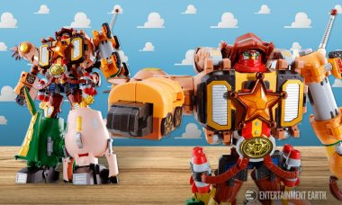 Stand Back, There's a New Sheriff in Town with Toy Story Chogokin Action Figure